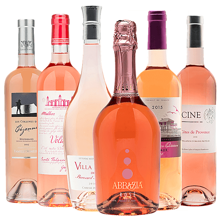 Heavenly Rose Wines 12-Pack