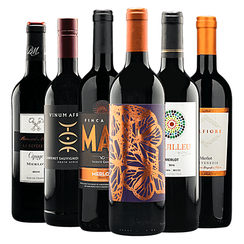 International Merlot Half-Case