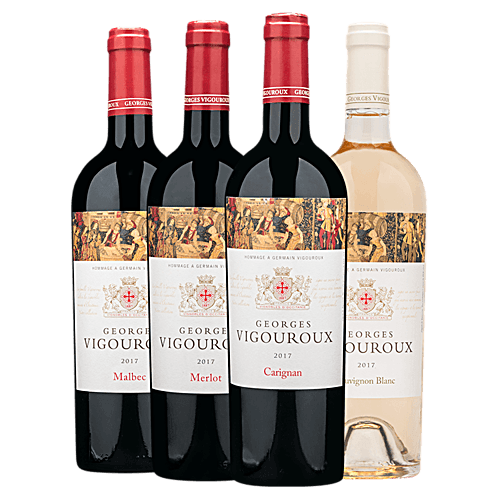 Georges Vigouroux Hommage French Wine Four-Pack
