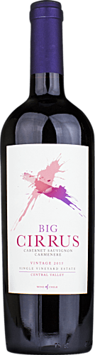 2015 Big Cirrus Single Vineyard Cabernet Carmérère
