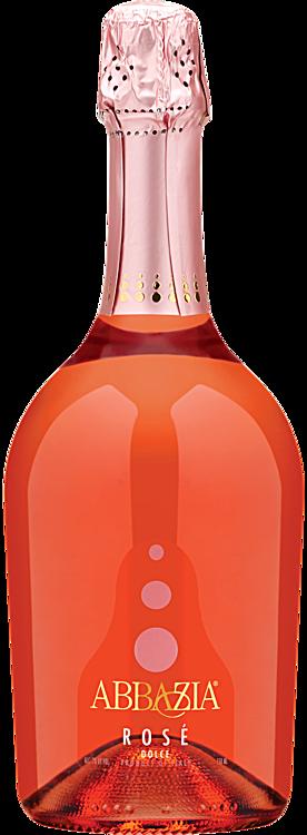 Abbazia Rose sparkling wine.
