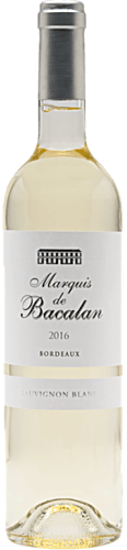 2016 Marquis de Bacalan Sauvignon Blanc
