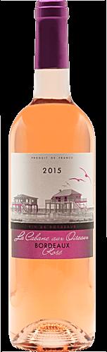 2015 La Cabane aux Oiseaux Bordeaux Rosé