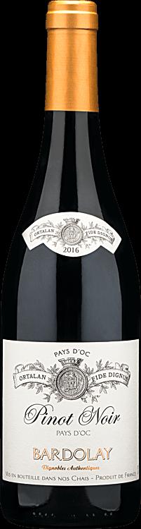 2016 Bardolay Pinot Noir Pays d'Oc
